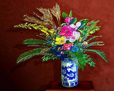 Digital Art - Bouquet Magnifique by Ric Darrell