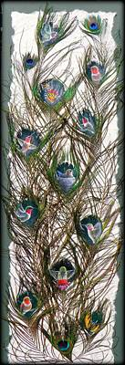 Painting - Bouquet Of Birds by Sherry Orchard