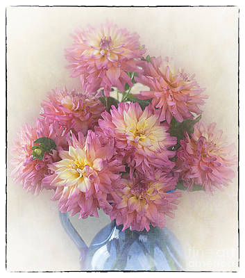 Photograph - Bouquet Of Dahlias by Ann Jacobson