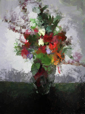 Photograph - Bouquet Of Flowers by Cedric Hampton