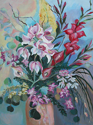 Painting - Bouquet Of Flowers by Synnove Pettersen