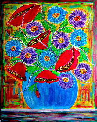 Painting - Bouquet Of Love by Gina Nicolae Johnson