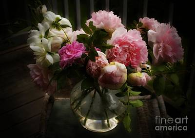 Photograph - Bouquet Of Peonies by Marcia Lee Jones