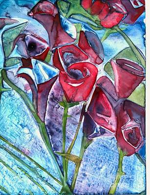 Painting - Bouquet Of Roses by Amy Stielstra