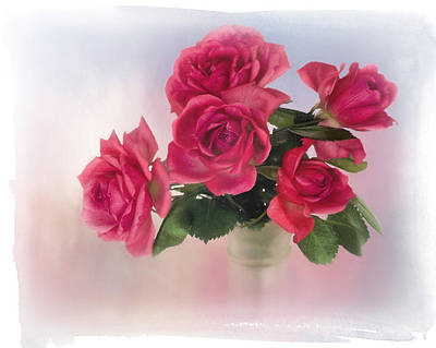 Photograph - Bouquet Of Roses by David and Carol Kelly