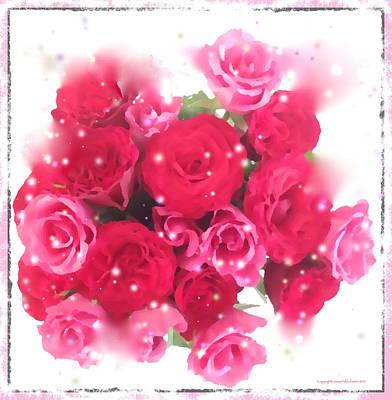 Photograph - Bouquet Of Roses by Leena Pekkalainen