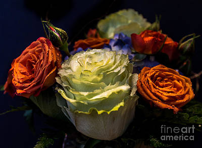 Wall Art - Photograph - Bouquet Of Roses by Marj Dubeau