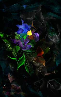 Digital Art - Bouquet On Trash Heap by David Lane