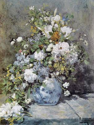 Painting - Bouquet Printanier by Pierre-Auguste Renoir