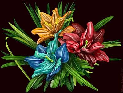 Bouquet#1 Art Print