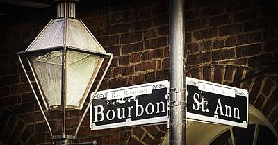 Photograph - Bourbon At St Ann by Nadalyn Larsen