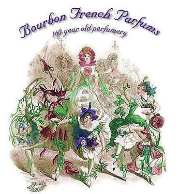 Digital Art - Bourbon French Perfume by ReInVintaged