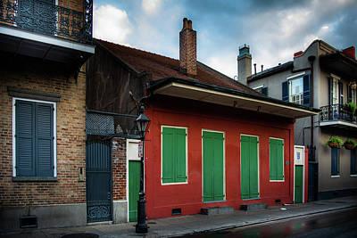 Photograph - Bourbon Street Apartments by Greg Mimbs