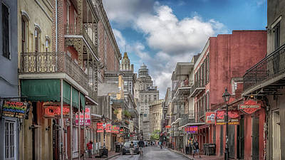 Photograph - Bourbon Street Awakens by Susan Rissi Tregoning