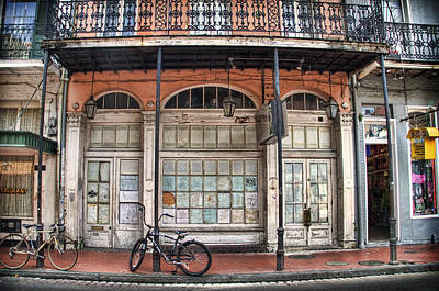 Photograph - Bourbon Street Bikes by Tammy Wetzel
