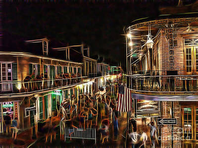 Bourbon Street Collection Art Print by Marvin Blaine