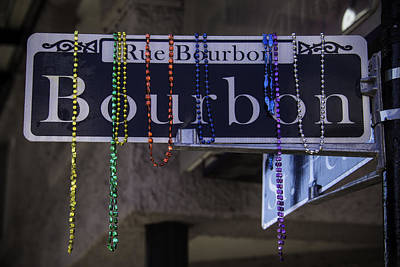 Mardi Gras Photograph - Bourbon Street by Garry Gay