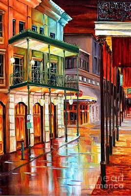 Bourbon Street Glow Original by Diane Millsap