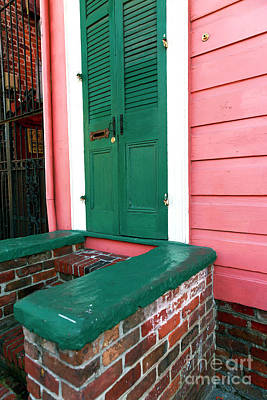 Shotgun Houses Wall Art - Photograph - Bourbon Street House Colors by John Rizzuto