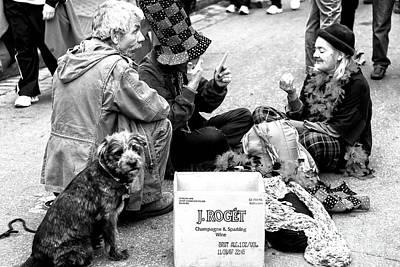 Photograph - Bourbon Street Performers by John Rizzuto