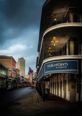 Photograph - Bourbon Street Sheraton by Greg Mimbs