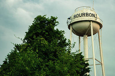 Photograph - Bourbon Tower And Tree by Gregory Ballos