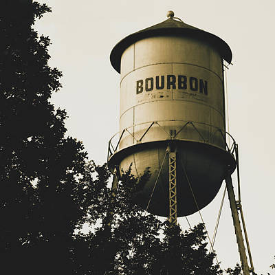 Photograph - Bourbon - Vintage Wall Art by Gregory Ballos