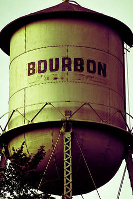 Photograph - Bourbon Whiskey Vintage Art by Gregory Ballos