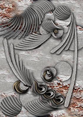 Bourgeoisie Creation Art Print