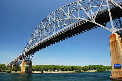 Photograph - Bourne Bridge  Cape Cod by Mark Wiley