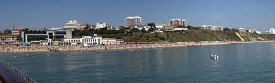 Photograph - Bournemouth Beaches by Chris Day