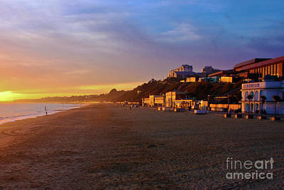 Photograph - Bournemouth Golden Hour by Terri Waters