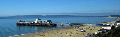 Photograph - Bournemouth Pier Dorset - May 2010 by Chris Day
