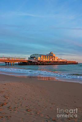 Photograph - Bournemouth Pier Golden Hour by Terri Waters
