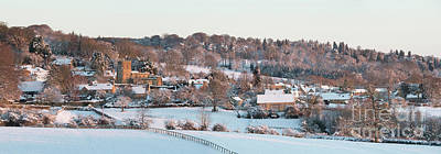 Photograph - Bourton On The Hill Winter Sunrise by Tim Gainey