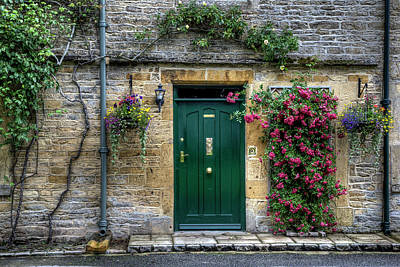 Wall Art - Photograph - Bourton-on-the-water Cottage by Soroush Mostafanejad