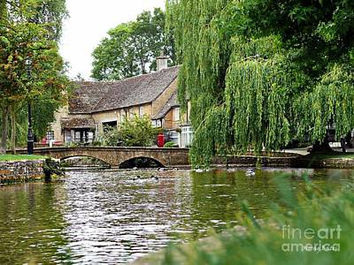 Photograph - Bourton-on-the-water by Morag Bates