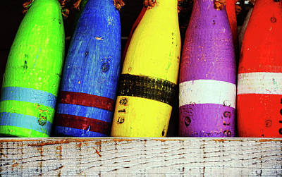 Photograph - Buoy Color by JAMART Photography