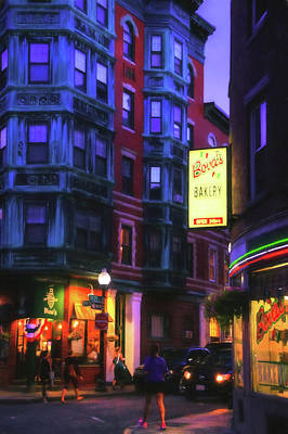 Photograph - Bova's Bakery - Boston North End by Joann Vitali
