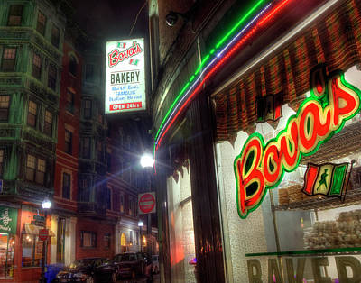 Photograph - Bova's Bakery - North End - Boston by Joann Vitali