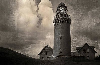 Photograph - Bovbjerg Lighthouse - 365-93 by Inge Riis McDonald