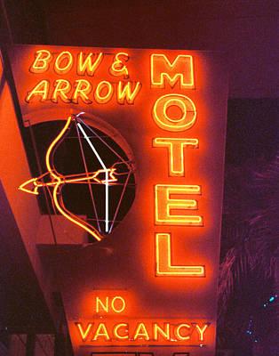 Bow And Arrow Motel Art Print