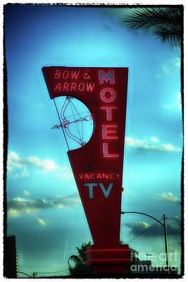 Digital Art - Bow And Arrow Motel  by Steven Digman