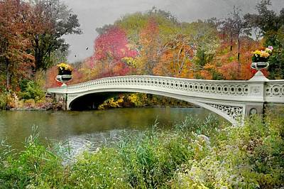 Photograph - Bow's Bridge by Diana Angstadt