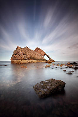 Photograph - Bow Fiddle Long Exposure by Grant Glendinning