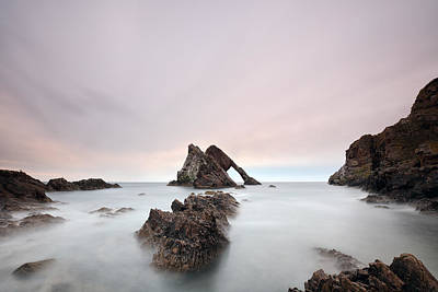 Photograph - Bow Fiddle - Portknockie by Grant Glendinning