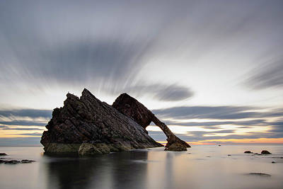 Bow Fiddle Rock At Sunrise Art Print