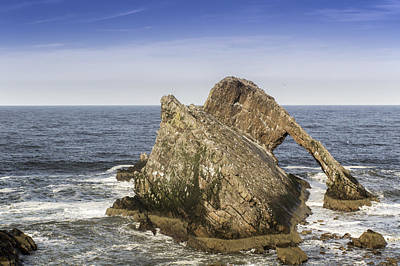 Bow Fiddle Rock Photograph - Bow Fiddle Rock by Colin Hayward