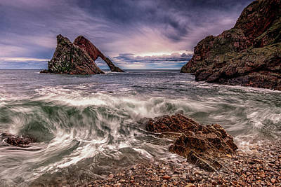 Photograph - Bow Fiddle Rock II by John Frid