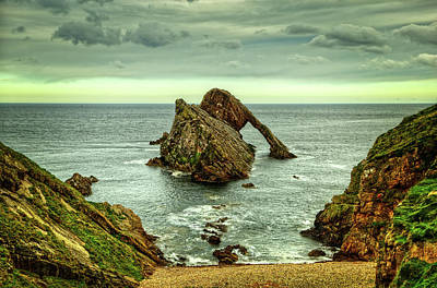 Bow Fiddle Rock Photograph - Bow Fiddle Rock by Robert Murray